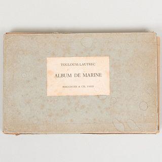After Henri deToulouse-Lautrec (1864-1901): Album de Marine