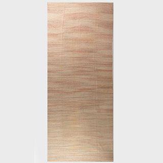 Large Pastel Woven Rag Carpet