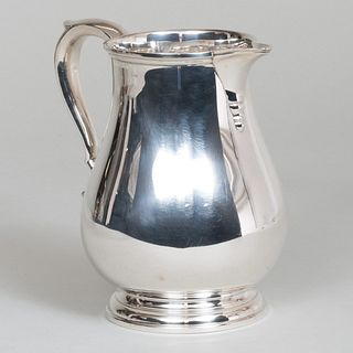 James Robinson Silver Water Pitcher