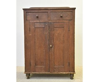 Country Pine Jelly Cupboard