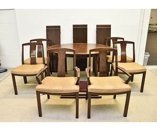 Baker Dining Table with Six Matching Chairs