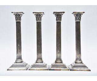 Gorham Sterling Silver Corinthian Candlesticks