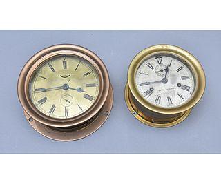 Seth Thomas Bronze Ship Clock etc.