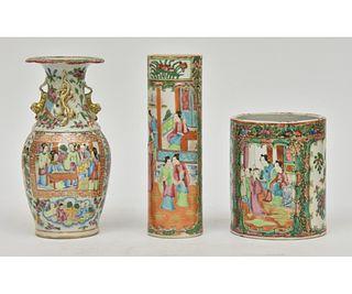 Rose Medallion Vase etc.