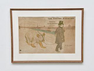 Rare Henri de Toulouse-Lautrec Lithograph
