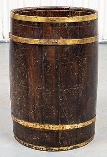 English Brass Mounted Stick / Umbrella Stand