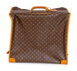 A Louis Vuitton Folding Soft Garment Bag Dimensions closed: Height 20 x length 23 x depth 15 inches.