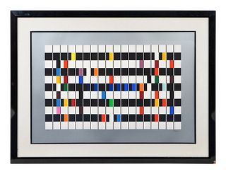 Yaacov Agam (Israeli, b. 1928) Midnight Light, One and Another, and One and Another 2 (Three Works)