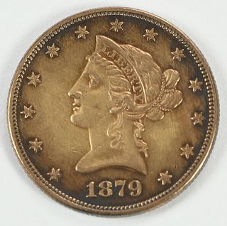 1879 Liberty Head $10 Gold Coin