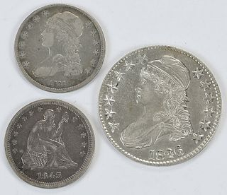 Three Silver Type Coins