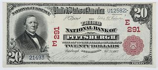 1902 $20 Third NB Pittsburgh, PA