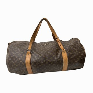 Louis Vuitton Duffle Bag Monogram Canvas in Brown