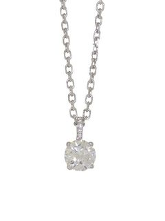 Cartier 1.05ct Diamond Pendant Retail $38,000