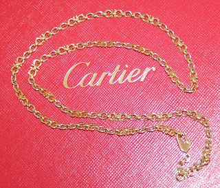 Cartier 18k Tri Color C De Cartier Necklace