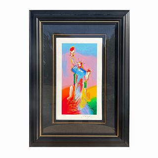 Peter Max (American, b. 1937) Lithograph