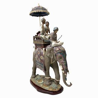 "Lladro Porcelain ""Road to Mandalay"" Sculpture"