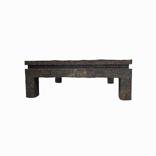 Brutalist Inspired Coffee Table
