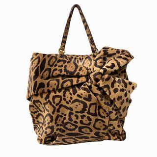 Valentino Garavani Leopard Print Shoulder Bag