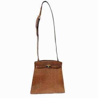Siso Women's Made in Italy Crossbody Bag in Brown