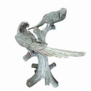 Large Birds Garden Bronze Sculpture