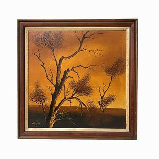 Matson Oil Painting on Canvas