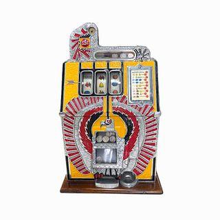 Vintage Ware Eagle Mills 25 cent Slot Machine