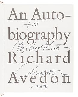 AVEDON, Richard (1923-2004). An Autobiography. New York: Random House, 1993.