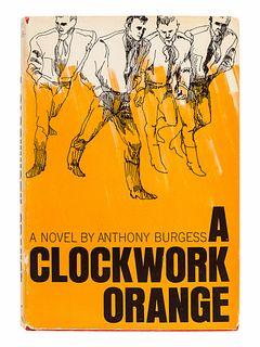 BURGESS, Anthony (1917-1993). A Clockwork Orange. New York: W. W. Norton & Company, 1963.