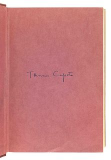 CAPOTE, Truman (1924-1984). In Cold Blood. New York: Random House, 1965.