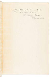 CLARK, Walter Van Tilburg (1909-1979). The Ox-Bow Incident. New York: Random House, 1940.