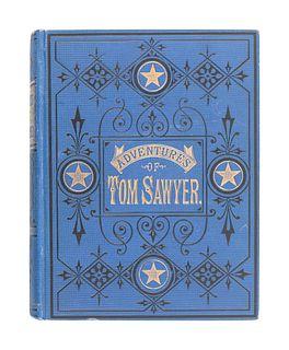 "CLEMENS, Samuel (""Mark Twain"") (1835-1910). The Adventures of Tom Sawyer. Hartford, et al: The American Publishing Company, 1876."