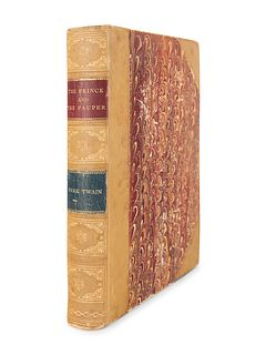 "CLEMENS, Samuel (""Mark Twain"") (1835-1910). The Prince and the Pauper. Boston: James R. Osgood and Company, 1882."