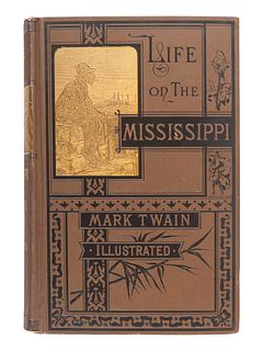 "CLEMENS, Samuel (""Mark Twain"") (1835-1910). Life on the Mississippi. Boston: James R. Osgood and Company, 1883."