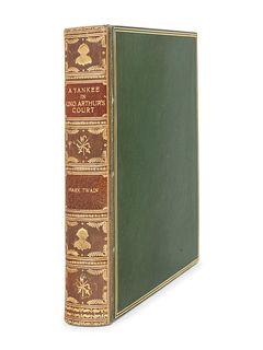 "CLEMENS, Samuel (""Mark Twain"") (1835-1910).  A Connecticut Yankee in King Arthur's Court. New York: Charles L. Webster & Company, 1889."