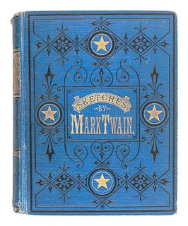 """CLEMENS, Samuel (""""Mark Twain"""") (1835-1910). Mark Twain's Sketches, New and Old. Hartford and Chicago: The American Publishing Company, 1875."""