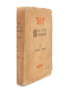 CRANE, Stephen (1871-1900). The Little Regiment and Other Episodes of the American Civil War. New York: D. Appleton and Company, 1896.