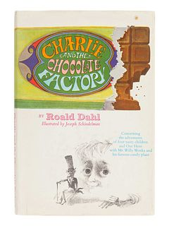 DAHL, Roald (1916-1990). Charlie and the Chocolate Factory. New York: Alfred A. Knopf, 1964.