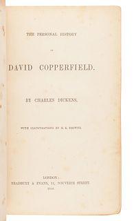 DICKENS, Charles (1812-1870). The Personal History of David Copperfield. London: Bradbury & Evans, 1850.
