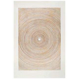 EMILIO GÓMEZ, Sin título, Firmado y fechado 2016, Grabado al aguafuerte P / A, 90 x 60 cm
