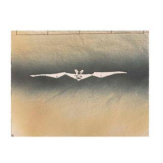 Cuaderno artesanal. México. Diseño por FRANCISCO TOLEDO para Amigos del Taller Arte Papel Oaxaca A.C. Firmado, sellado y con etiqueta.
