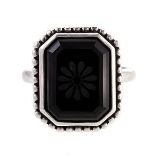 A Tiffany & Co. Onyx Daisy Cocktail Ring