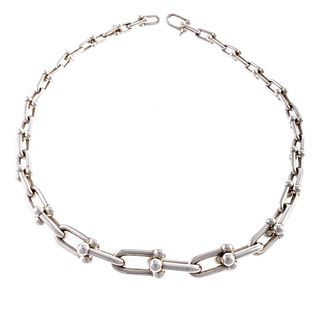 "A Tiffany & Co. ""Hardwear"" Graduated Link Necklace"