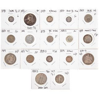 17 Classic US Type Coins