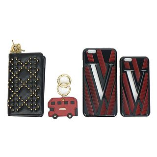 Designer Phone Cases and Key Charm
