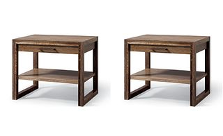 2 Nighstands/Side Tables by Altura in Ceruzed Walnut