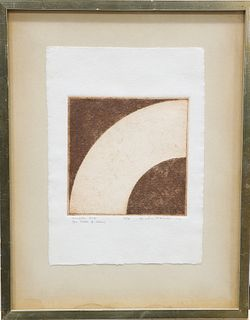 GORDON HOUSE (1932-2004), SMALL ARC, artist's proof, signed