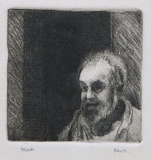 LAWRENCE DAWS (AUSTRALIAN, BORN 1927), PORTRAIT OF A MAN, p