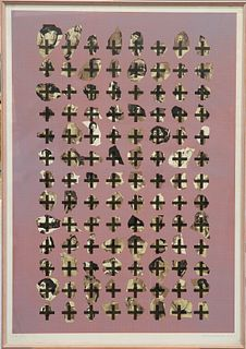 BRIAN CLARKE (BRITISH, BORN 1953), BOYS, artist's proof, si