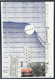 JOE TILSON (BRITISH, BORN 1928), OCEANUS/TETHYS, artist's p