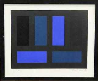 IAN TYSON (BORN 1933), LETTERS, I-IIIII, a set of five arti